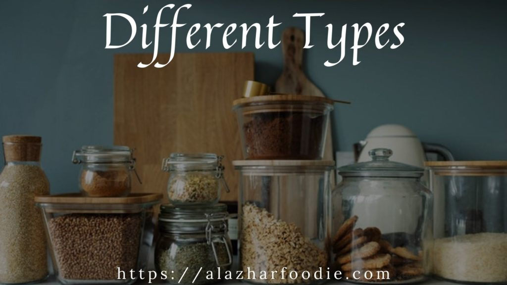 Grain type - Different Types