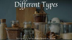 Grain type - Different Types