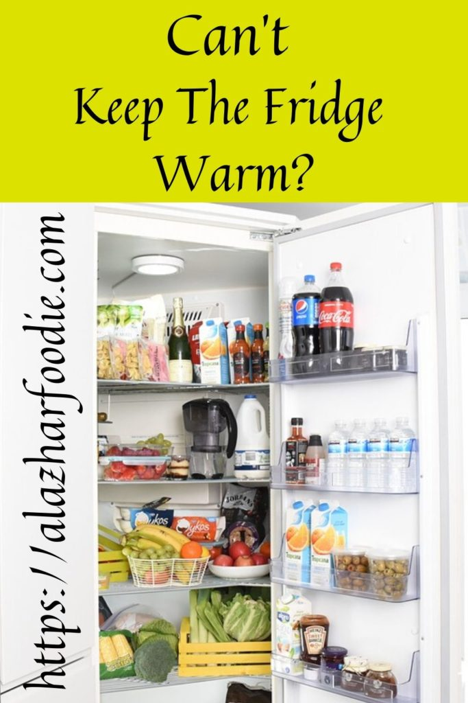 Can't Keep The Fridge Warm?