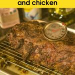 How to Use Beef Meat Thermometer Beef and chicken