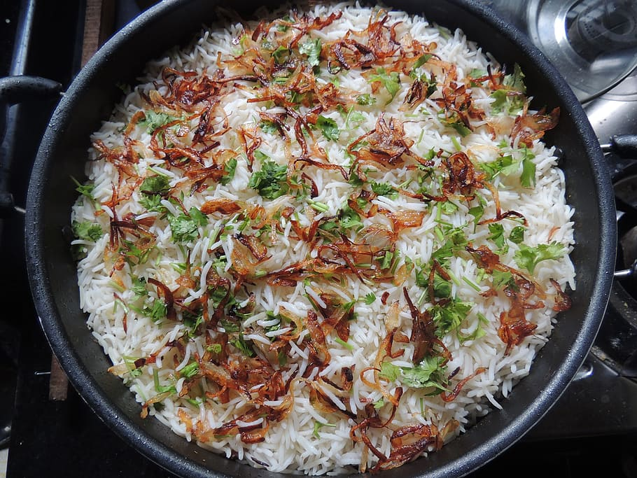 Garlic and Onion Rice, Masala Gate