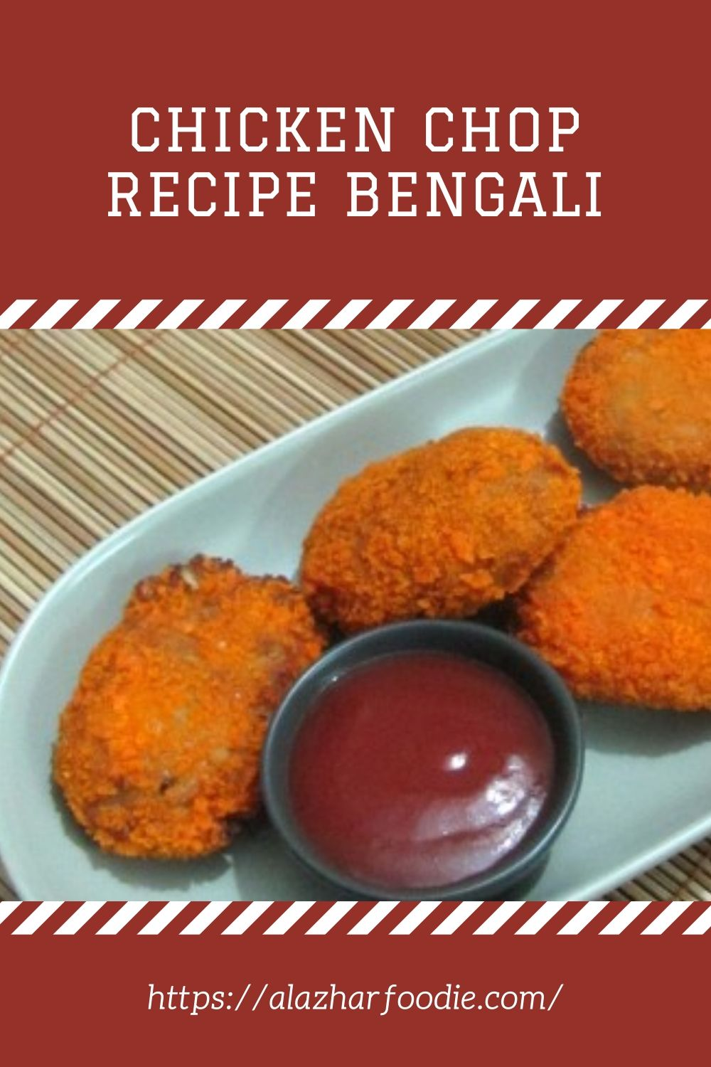 Chicken Chop Recipe Bengali 1