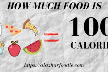 How Much Food is 100 calorie