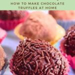How To Make Chocolate Truffles At Home