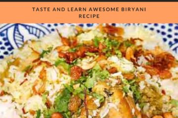 Thalassery Chicken Biryani Recipe