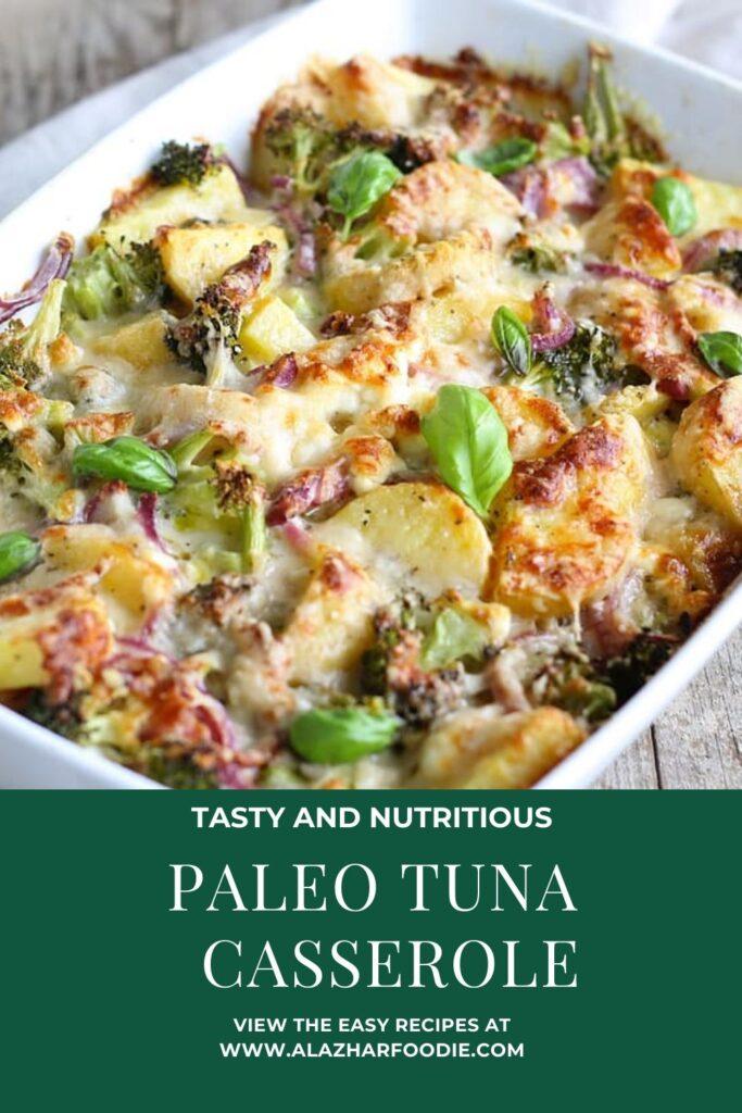 Paleo Tuna Casserole Recipe
