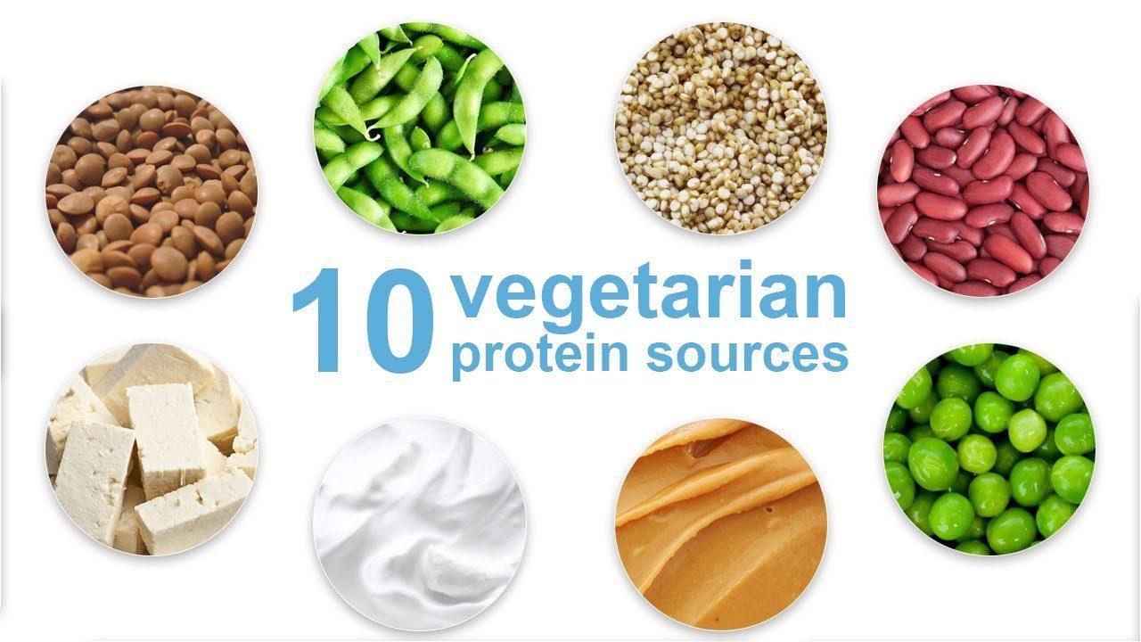 top 10 vegetarian protein source