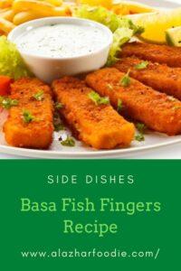 Basa Fish Fingers Recipe