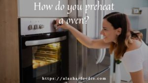 How do you preheat a oven?