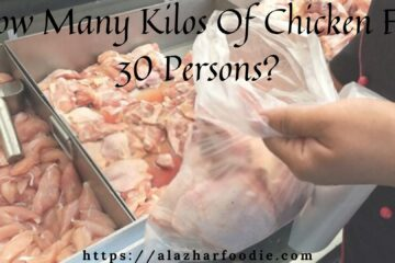 How Many Kilos Of Chicken For 30 Persons_