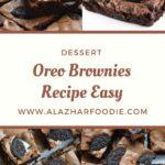Oreo Brownies Recipe Easy