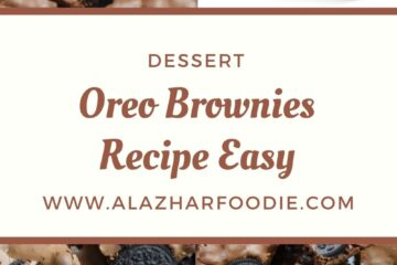 Oreo Brownies Recipe Easy