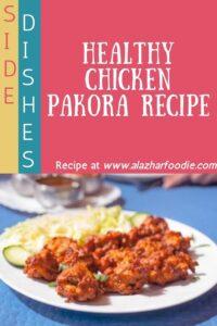 Healthy Chicken Pakora Recipe