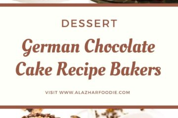 German Chocolate Cake Recipe Bakers