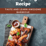 Dallas BBQ Sticky Wing Recipe