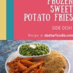 Air Fryer Frozen Sweet Potato Fries