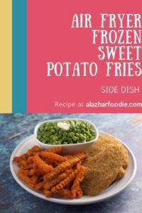 Air Fryer Sweet Potato Fries Frozen