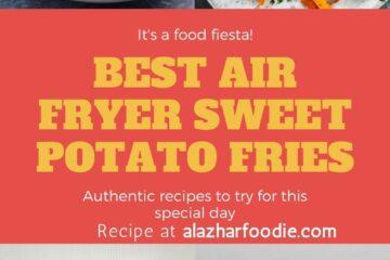 Best Air Fryer Sweet Potato Fries