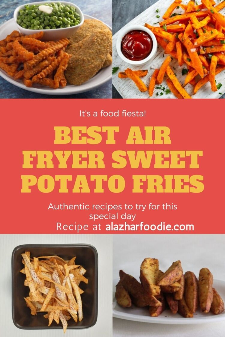 Best Air Fryer Sweet Potato Fries