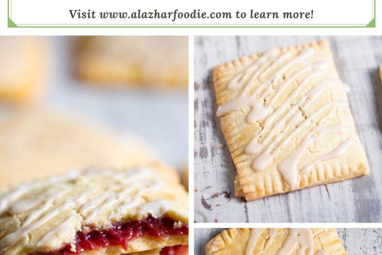 Homemade Pop Tarts - Paleo Strawberry