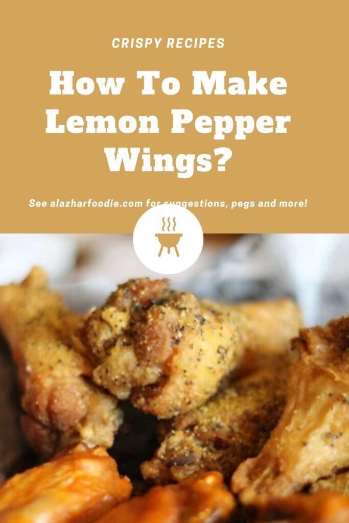 How To Make Lemon Pepper Wings