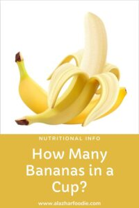 How Many Bananas in a Cup?
