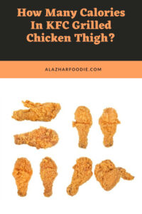 how many calories in kfc grilled chicken thigh