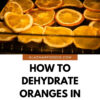 How To Dehydrate Oranges In The Oven