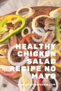 Healthy Chicken Salad Recipe No Mayo