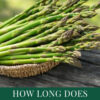 How Long Does Asparagus Keep