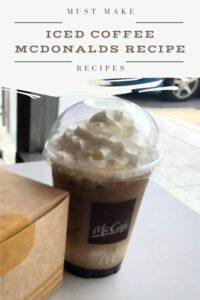 iced coffee mcdonalds recipe