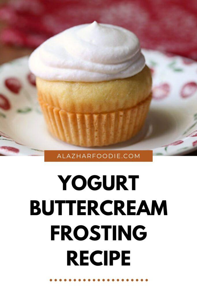 yogurt buttercream frosting recipe