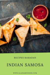 Indian Samosa as Ramadan Dish