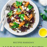Moroccan Lentil Salad