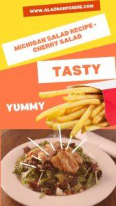 Michigan Salad Recipe - Cherry Salad 2