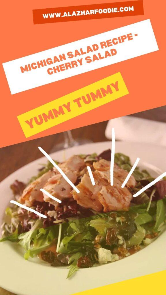 Michigan Salad Recipe - Cherry Salad 3
