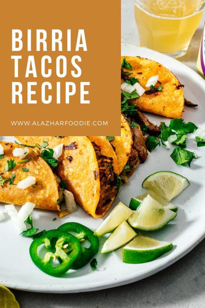 Birria Tacos Recipe